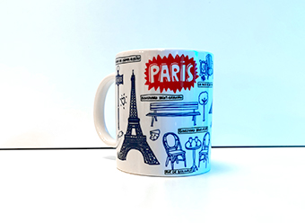 Mug PARIS PUCES