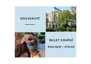 Billet couplé basilique / Chantier médiéval